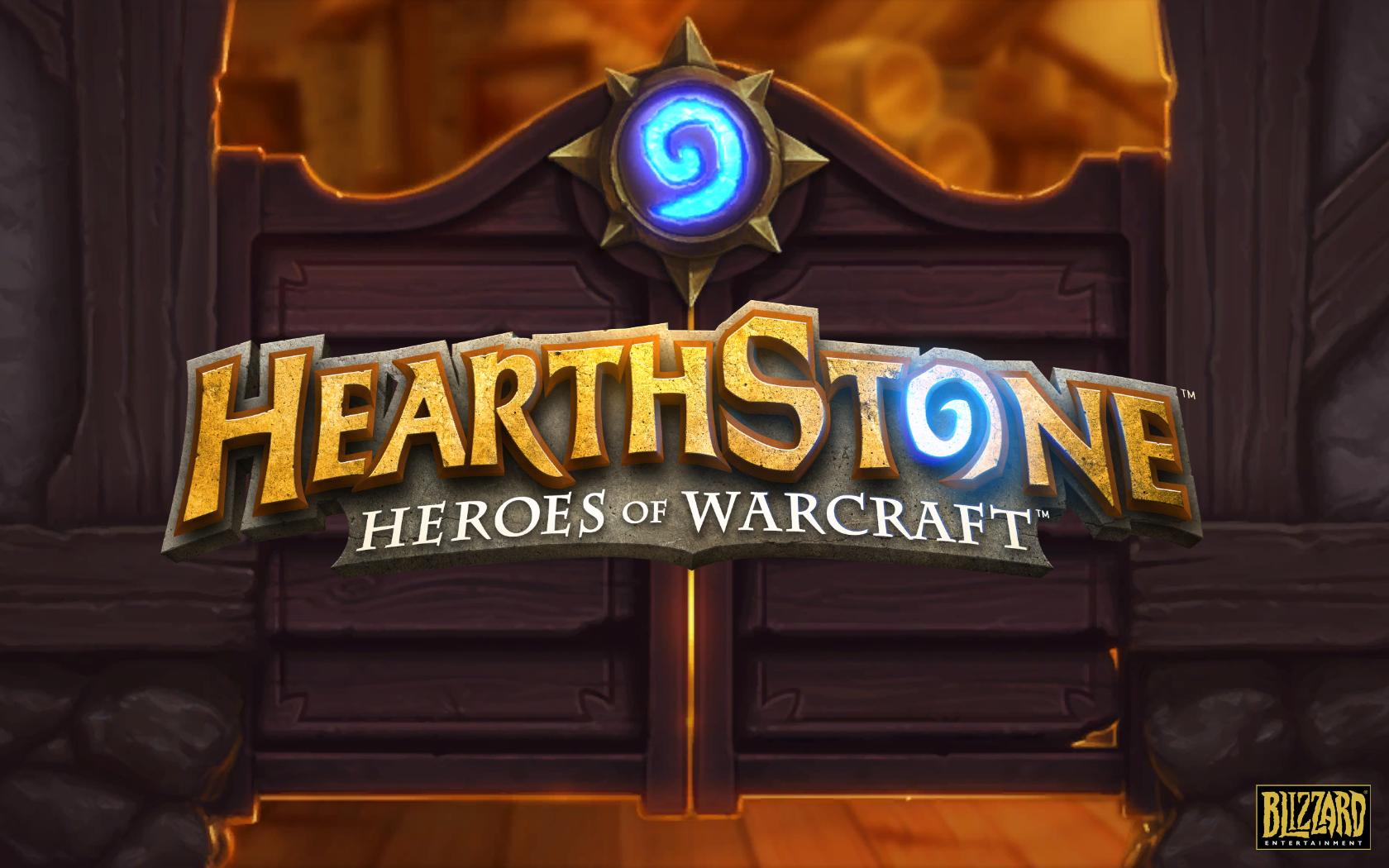 Hearthstone Review Screenshot Wallpaper Title Screen Heroes Of Warcraft Maps Texture Logo 96968 1920x1080