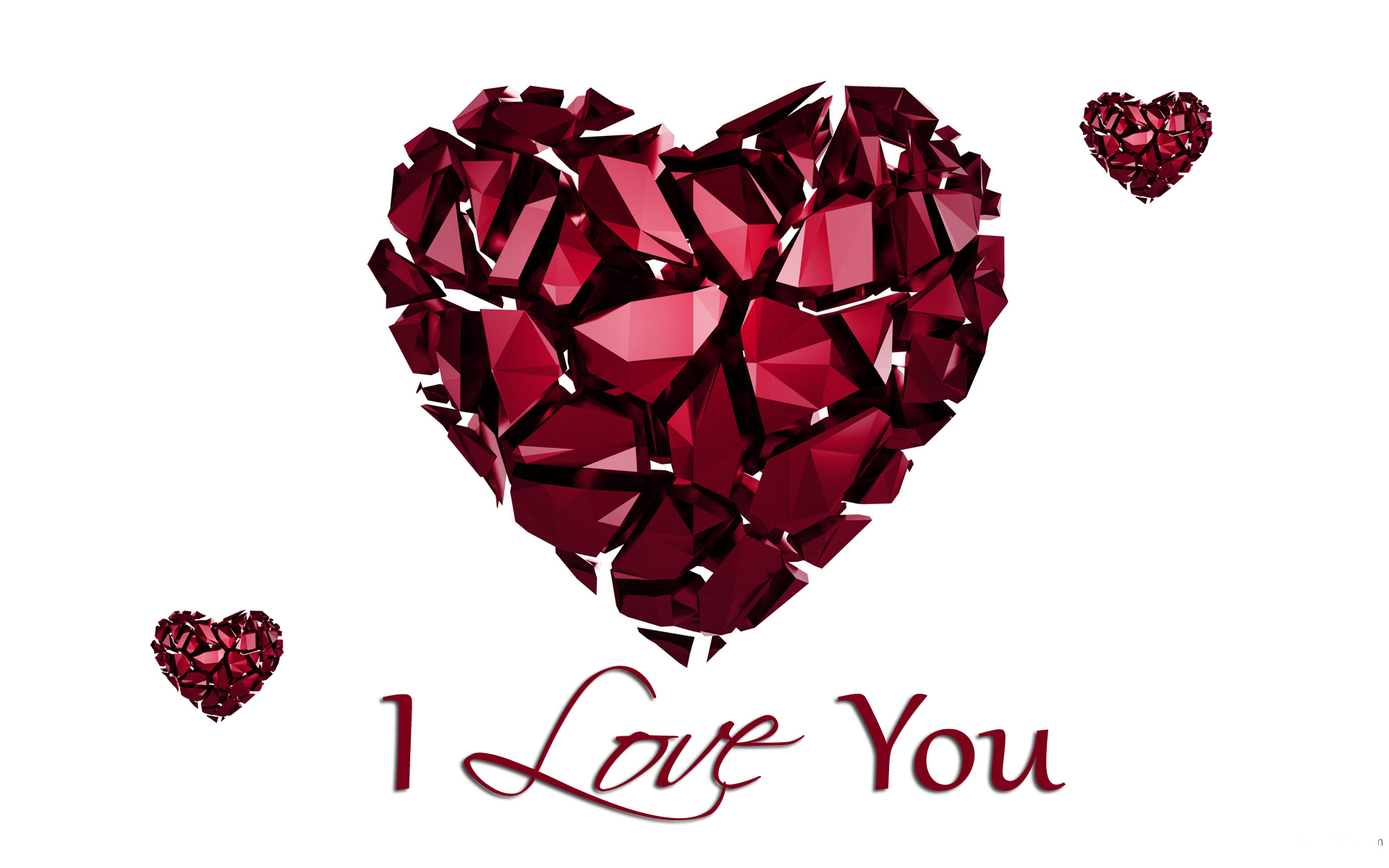 cute Love Wallpaper In 3d : I Love You Wallpapers, Pictures, Images