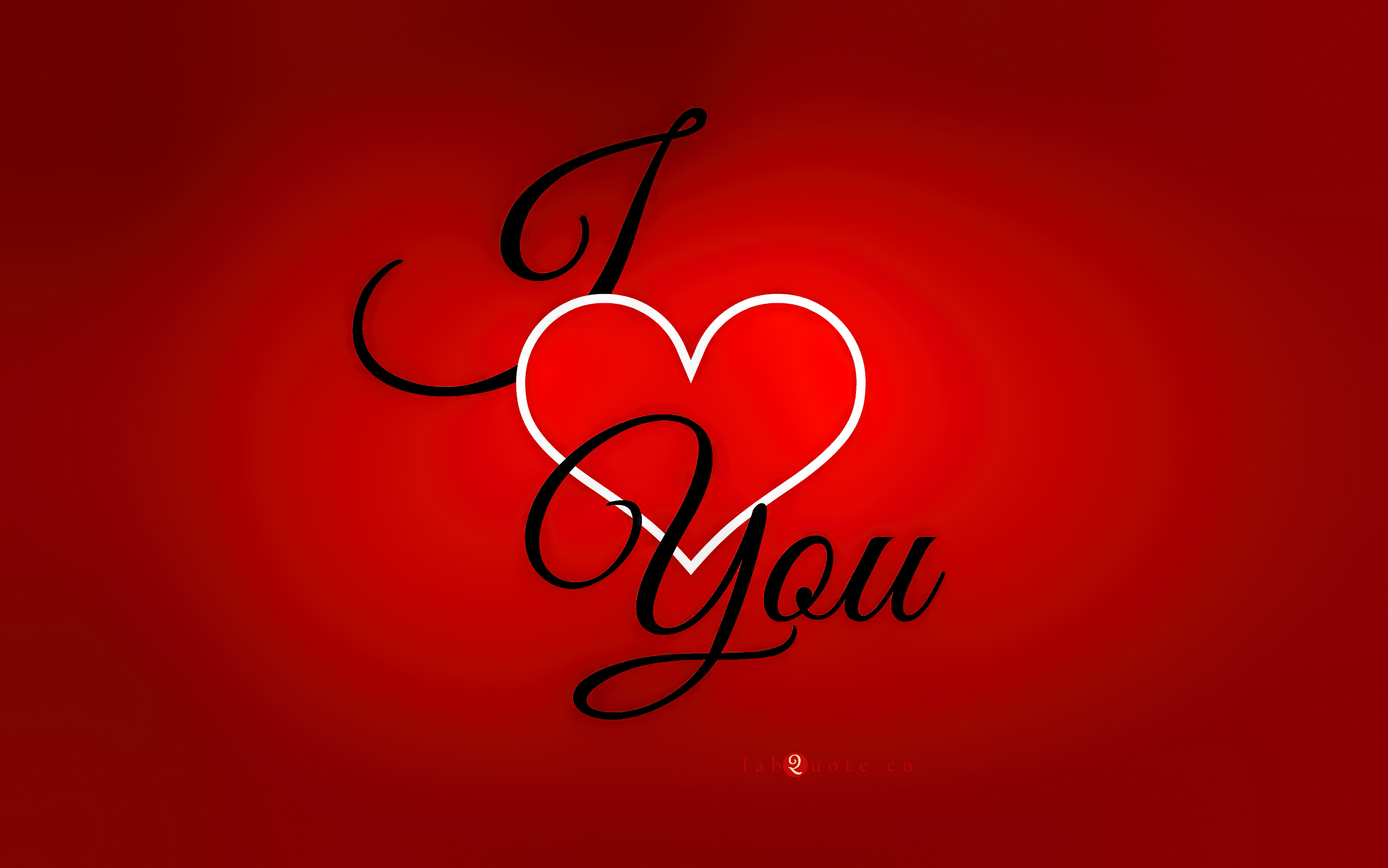 I Heart You Wallpaper Free Download