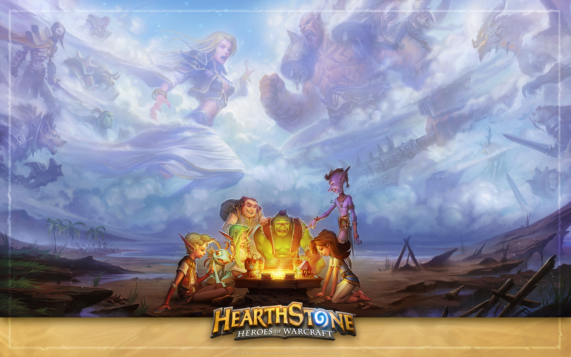 Image Detail For Fantasy Ipad Wallpaper: Hearthstone Wallpapers, Pictures, Images