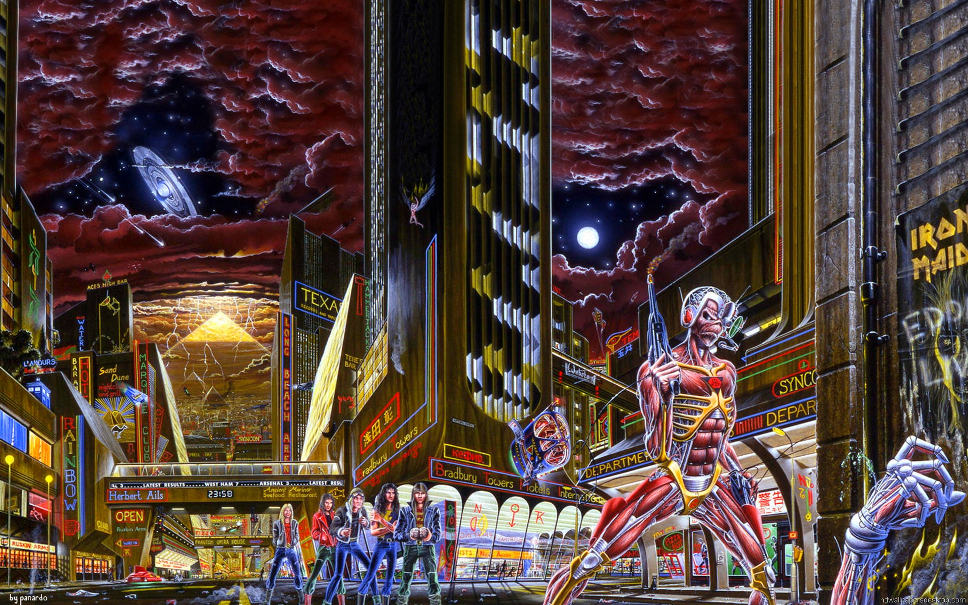 Iron Maiden Wallpapers Pictures Images