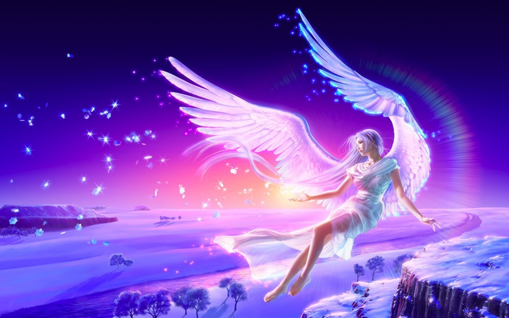 Angel purple