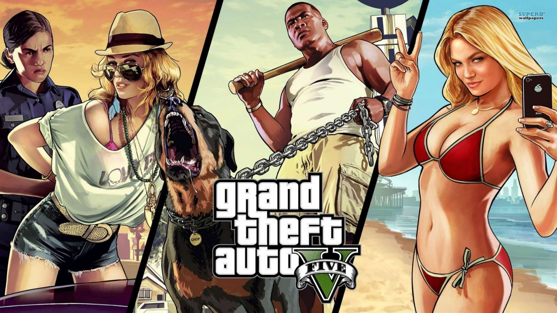 Download image gta5 pc android iphone and ipad wallpapers and -  Gta 5 Wallpaper