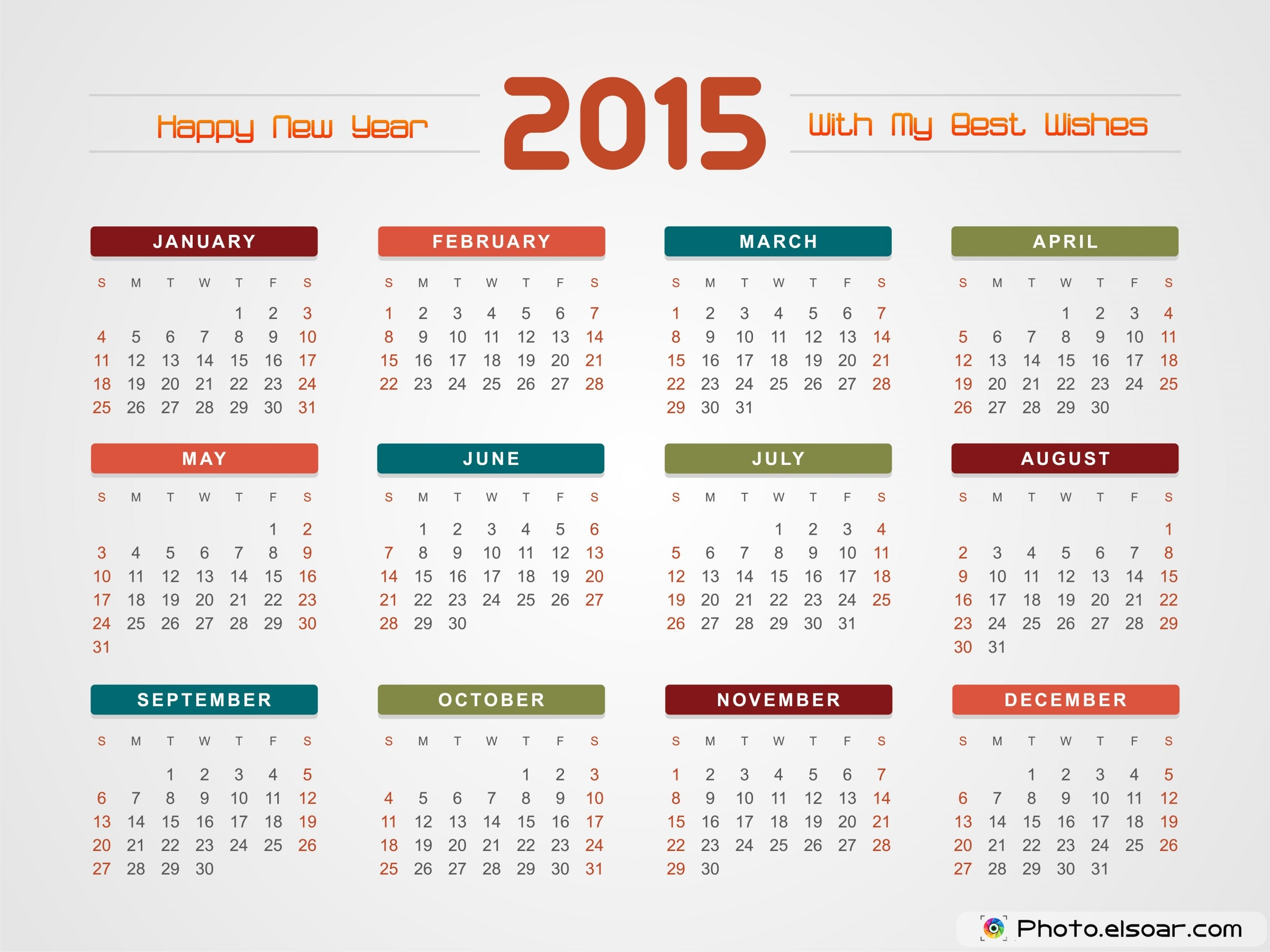 New Year Calendar Design : Printable calendar pictures images