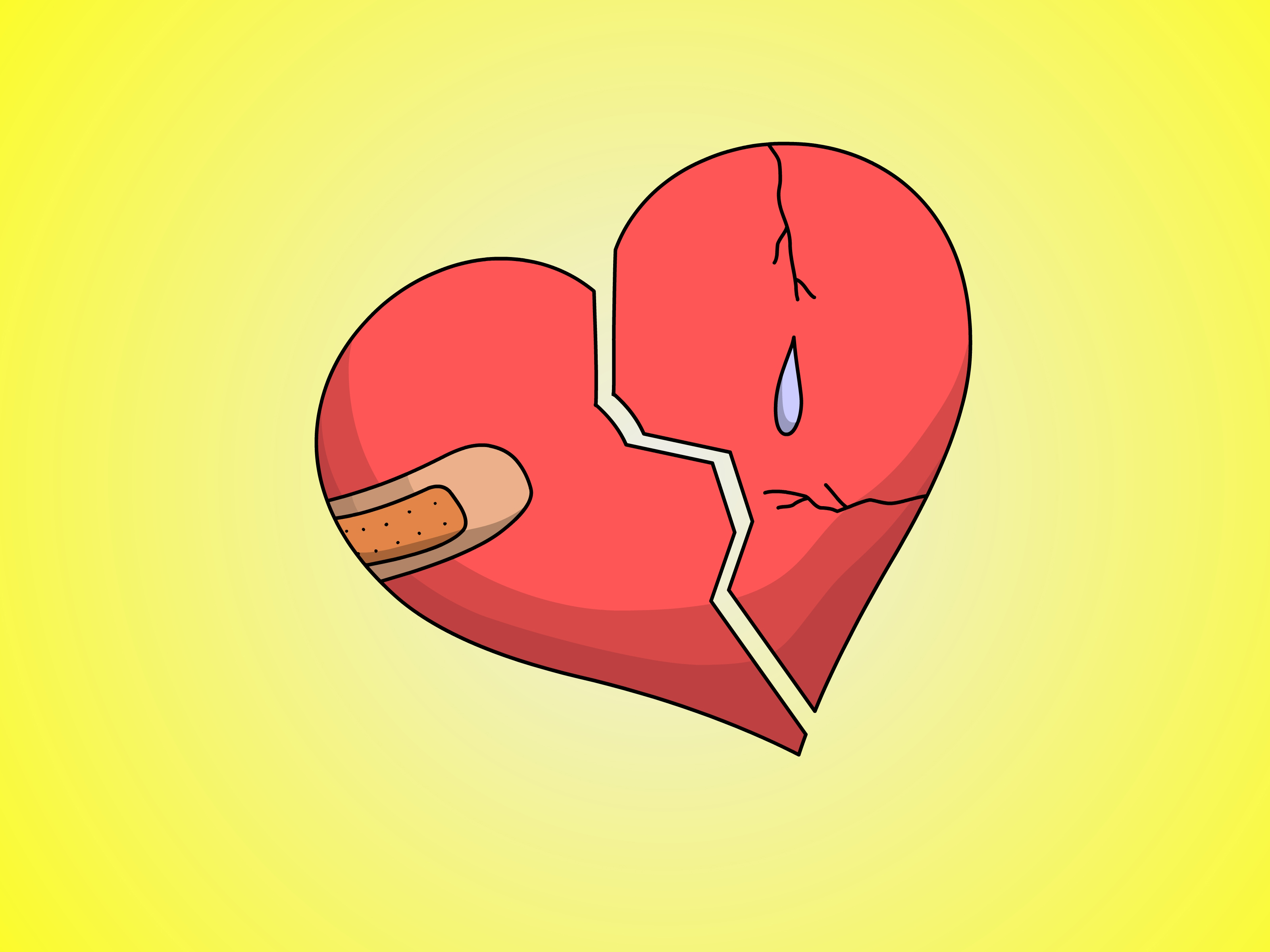 Amazing Wallpaper Love Emoji - Draw-a-Broken-Heart-Step-6  Collection_194999.jpg