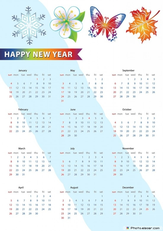 Printable 2015 calendar pictures images - Happy new year sound europe ...