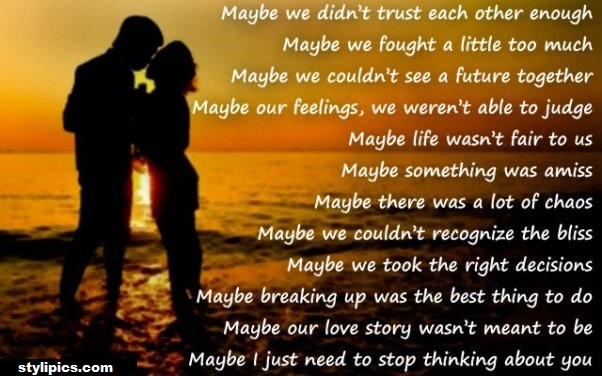 Romantic I Miss You Poem
