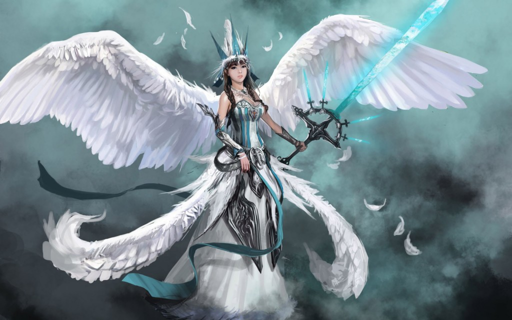 Angel Warrior Fantasy Hd Wallpaper