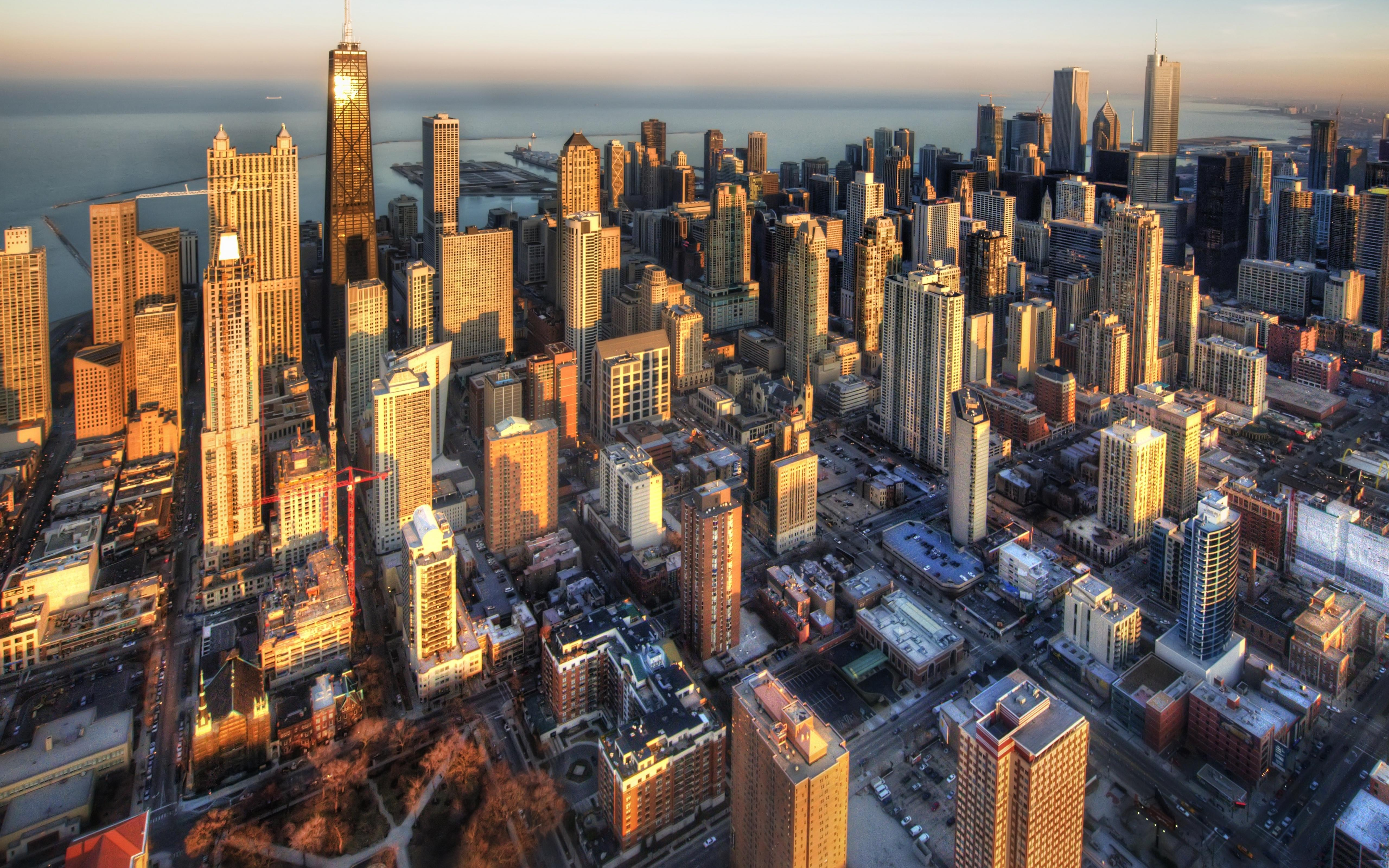 Best Wallpaper Macbook Chicago - chicago-aerial-view-wallpaper  Collection_67958.jpg