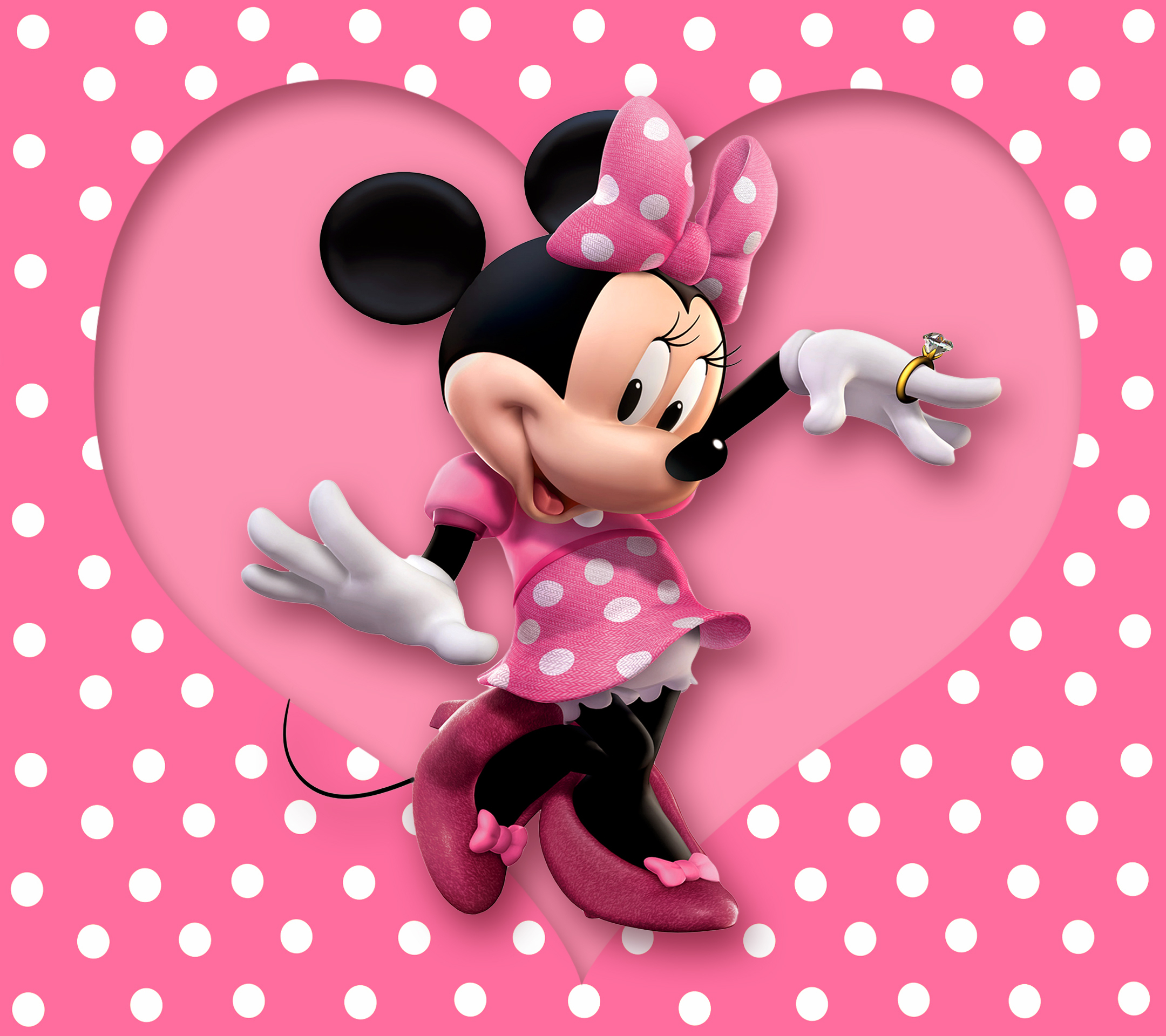 cute-purple-minnie-mouse-cartoon-hd-wallpaper-minnie-mouse-wallpaper ...