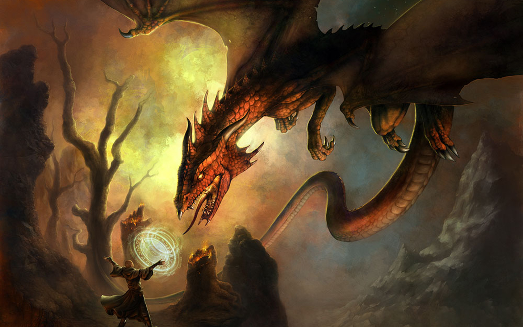 Warlocks Dragons: Dragons Wallpapers, Pictures, Images