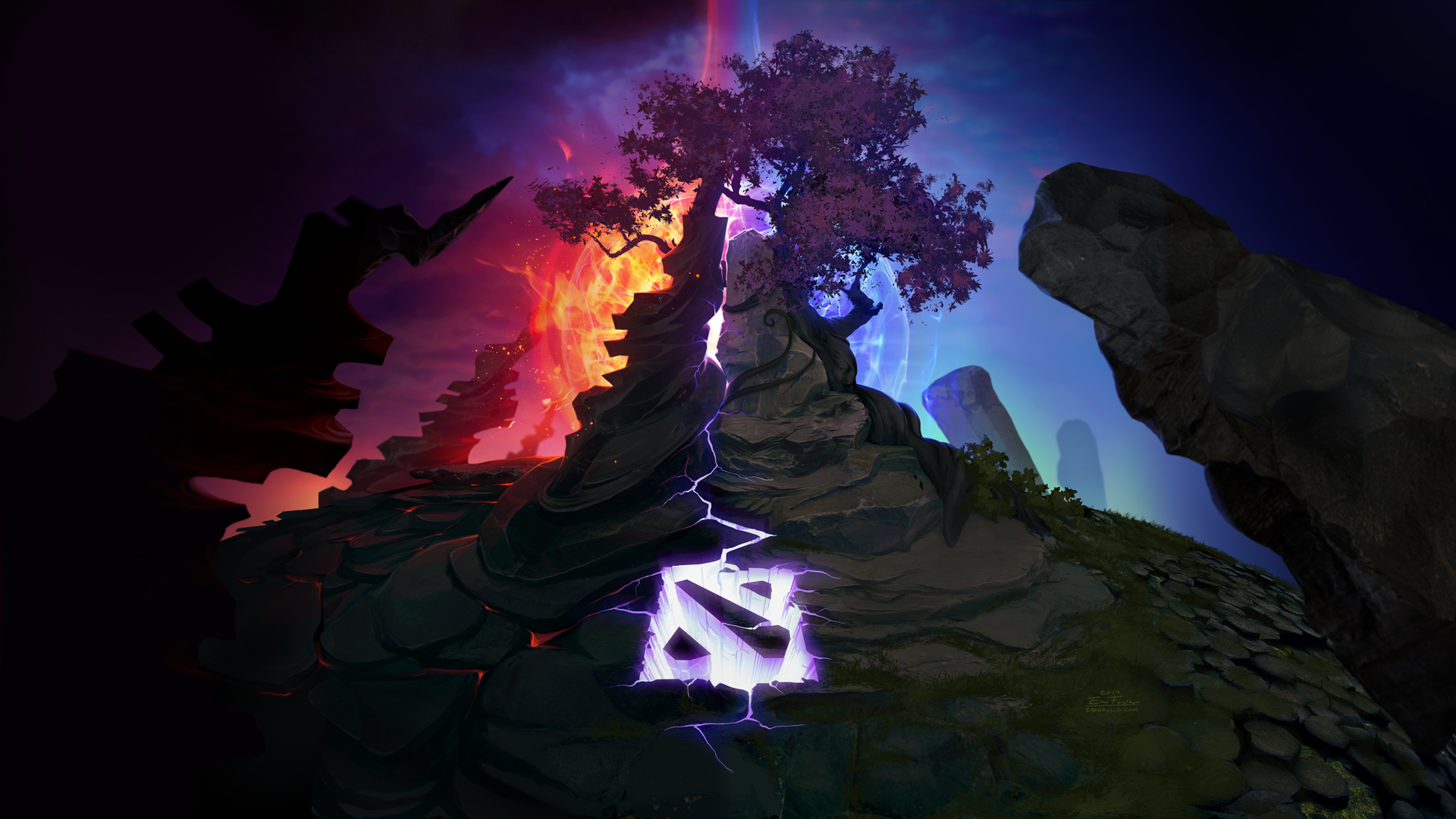dota 2 game background - photo #3