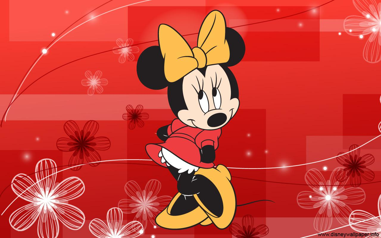 YouWall Mickey and Minnie Mouse Wallpaper wallpaperwallpapers