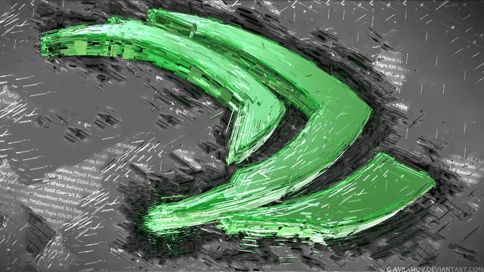 Nvidia, GPUs, Logo, 3D, Render Wallpapers HD / Desktop and Mobile ...