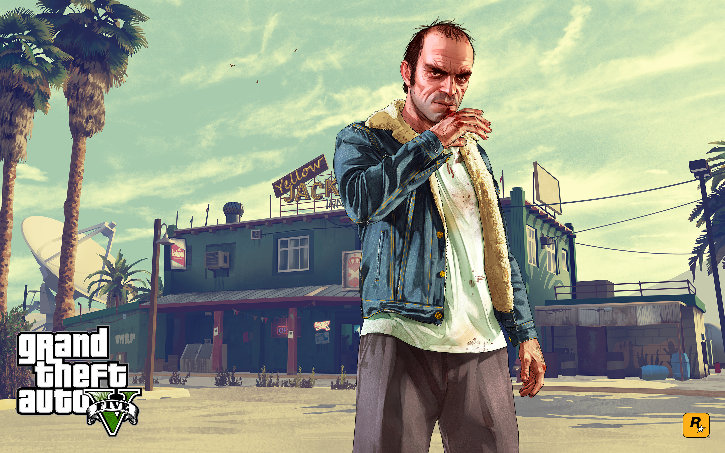 Gta 5 wallpapers pictures images for Gta v bedroom wallpaper