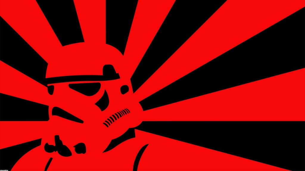 Red Star Wars Background