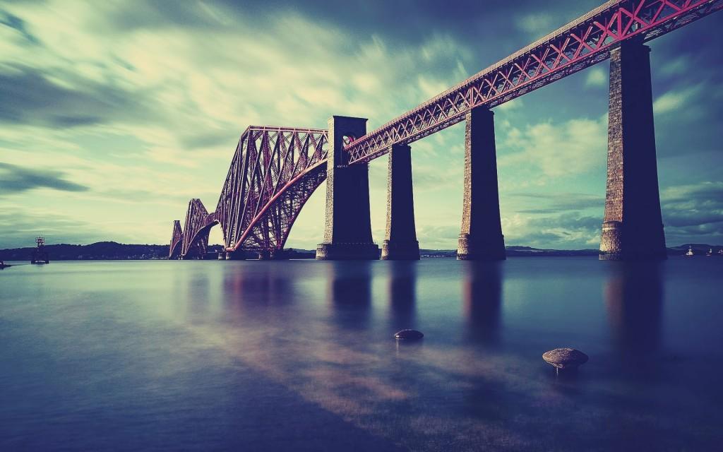 scotland wallpapers desktop bridge nu forth
