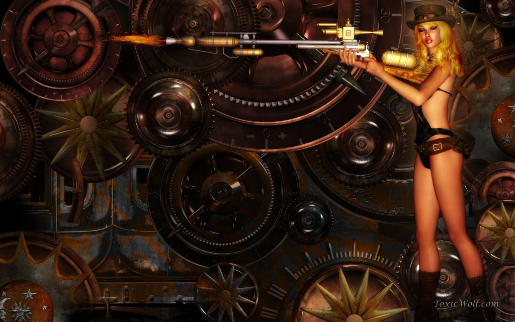 Steampunk Widescreen Wallpaper 1920x1200