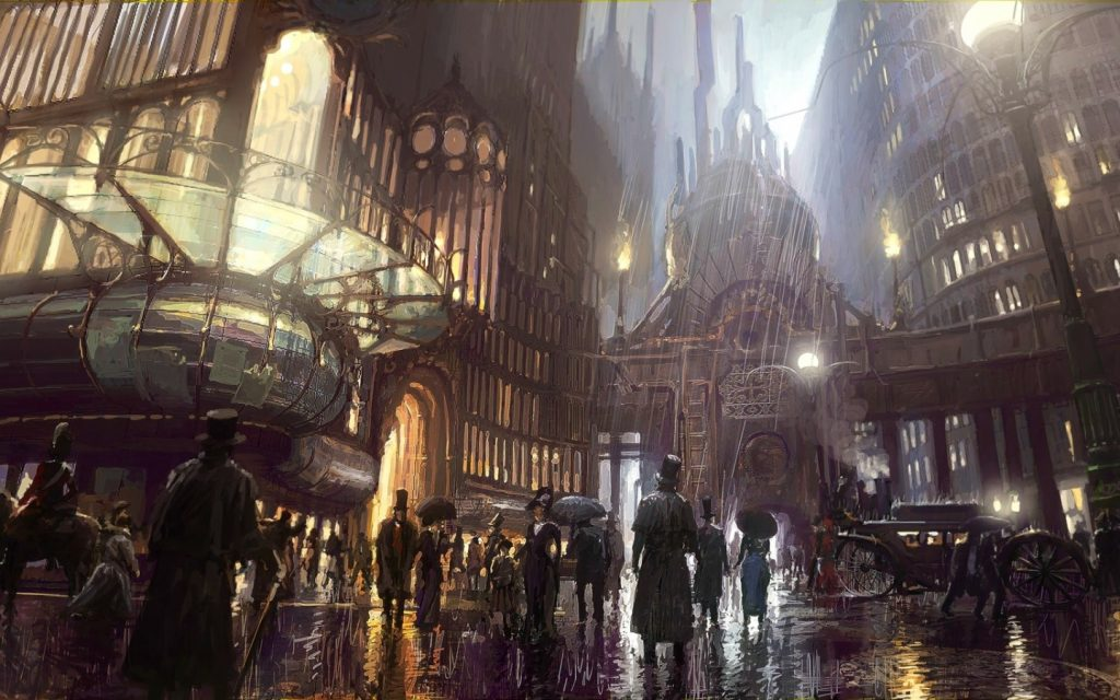 Steampunk Widescreen Wallpaper 1440x900