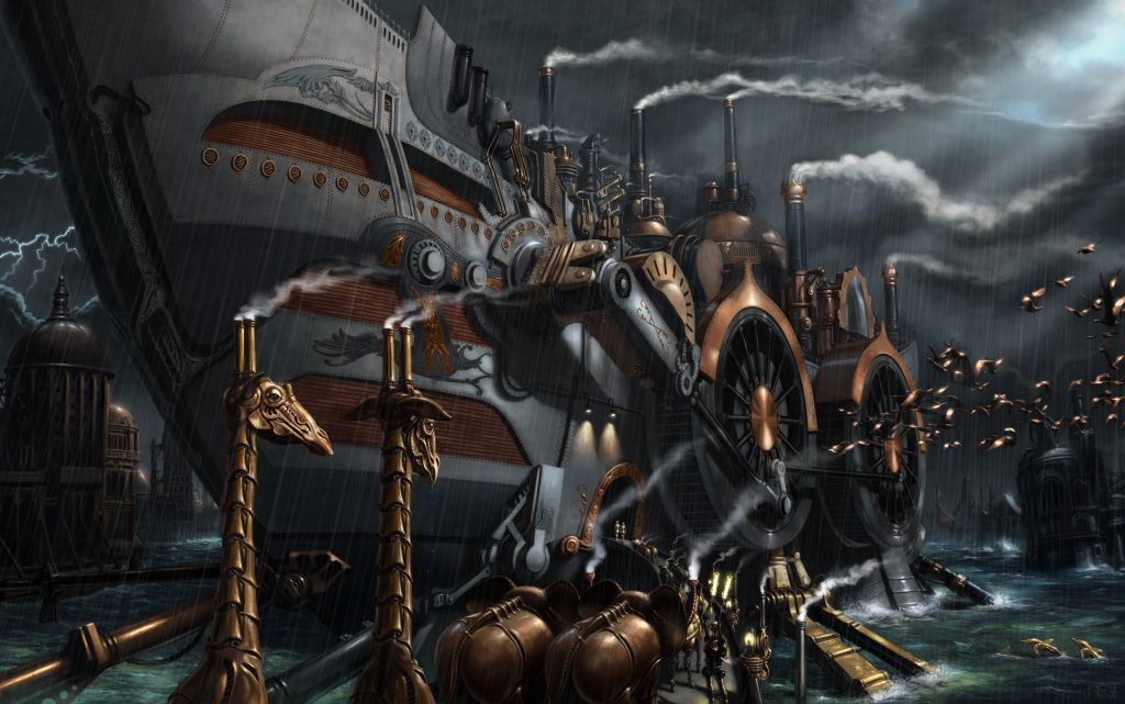 Steampunk Wallpaper 2500x1566