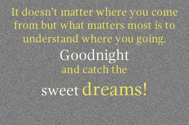 Good Night Quote Wallpaper