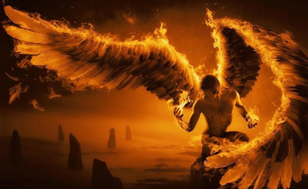 Fired Angel Man