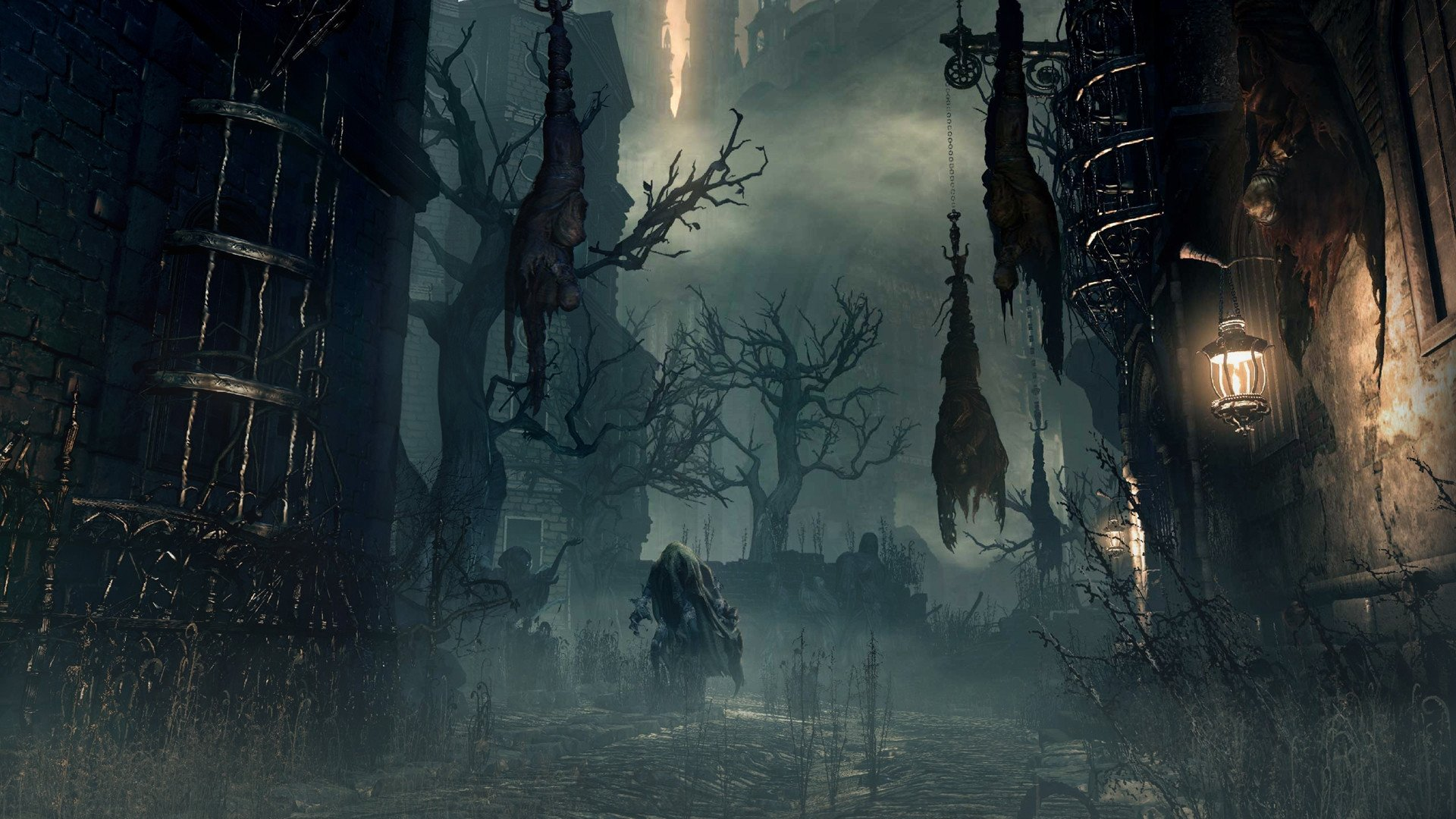 Bloodborne wallpapers pictures images for Yharnam architecture
