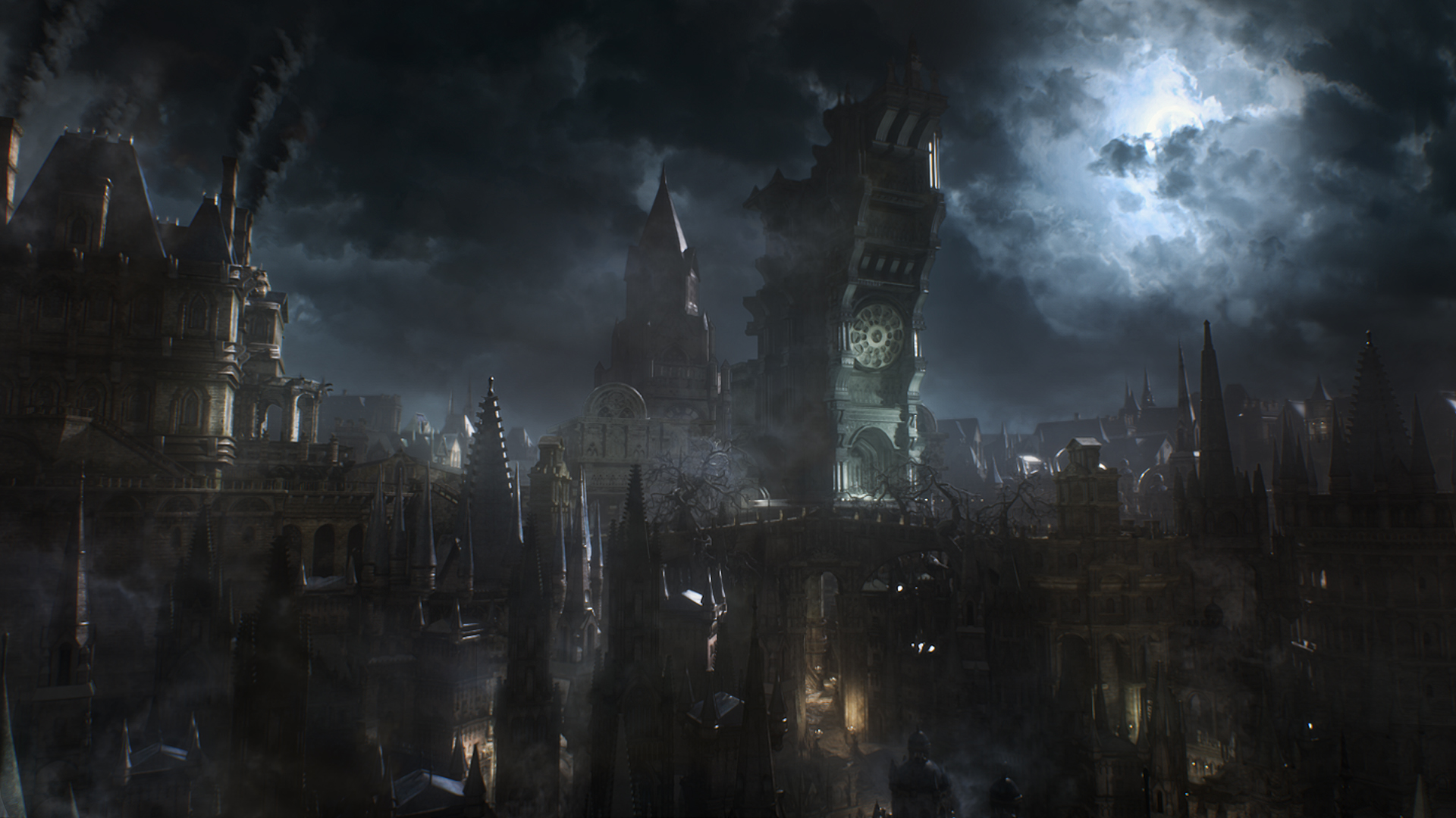 Space Demonic Art Hd Wallpaper: Bloodborne Wallpapers, Pictures, Images