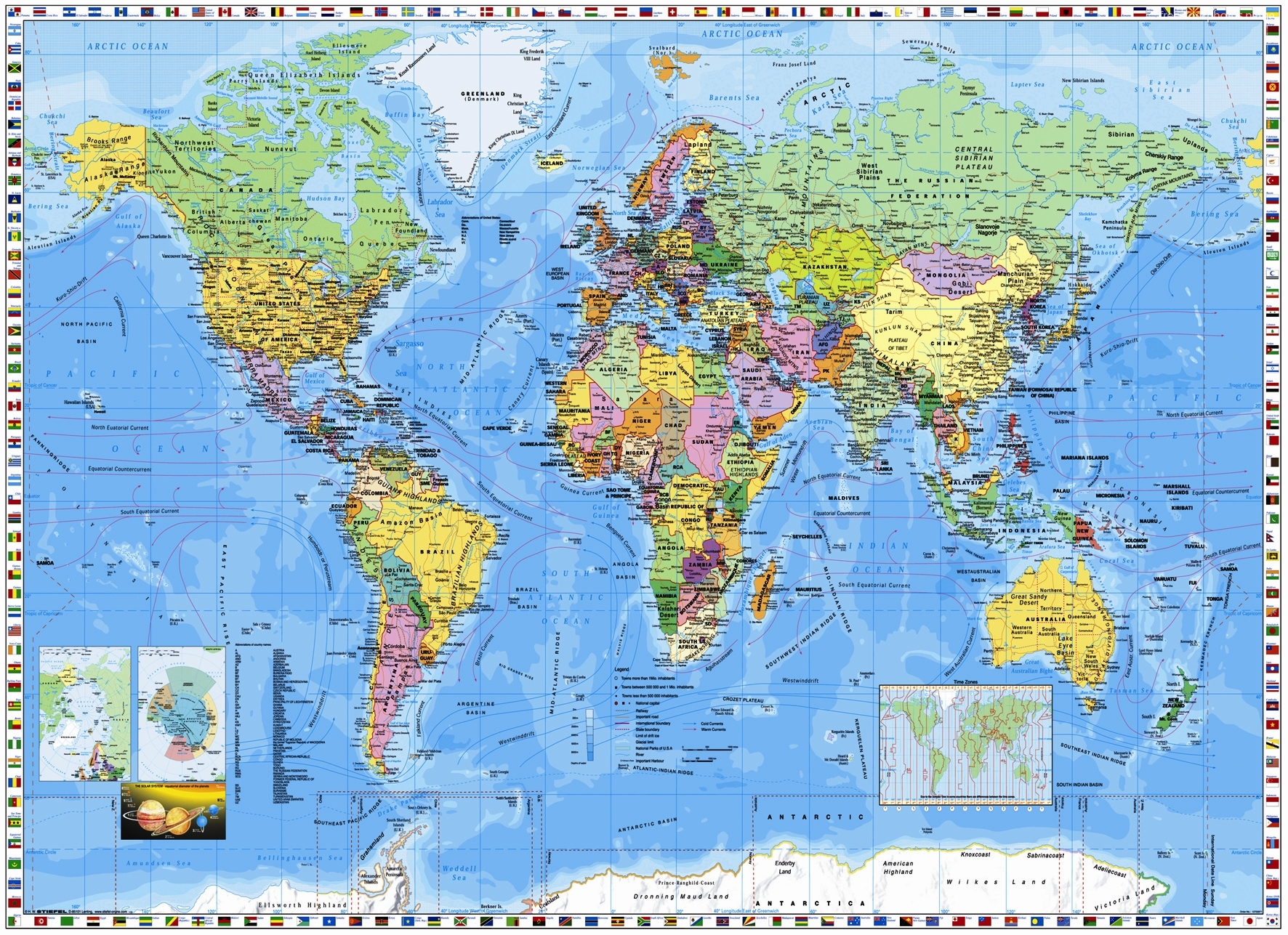 Top world map wallpaper hd wallpapers World map wallpaper
