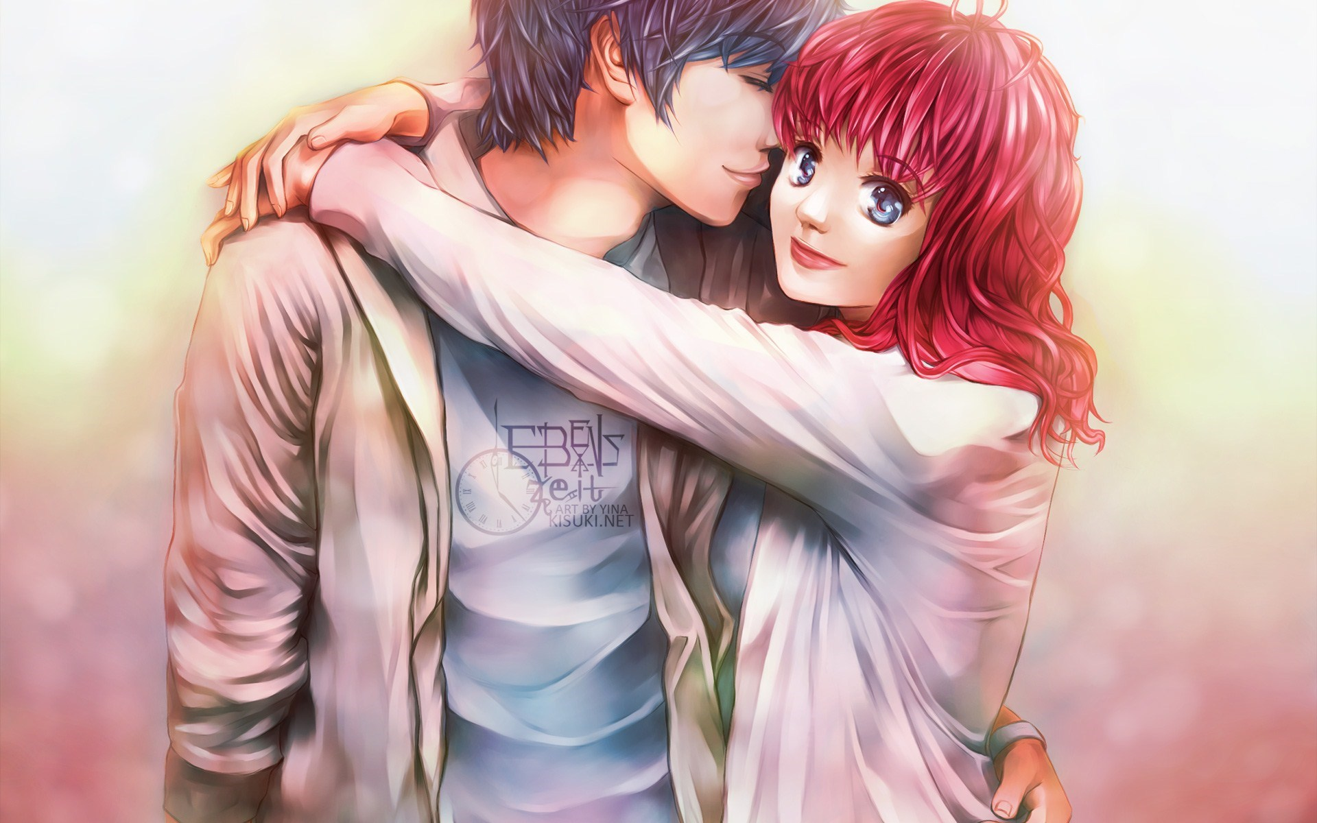 Top Love Couple Cartoon HD Wallpaper Download - 1314136-couple-hugging  Gallery_297235.jpg