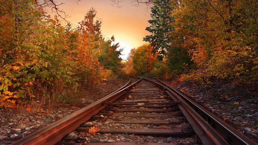Railroad Wallpaper