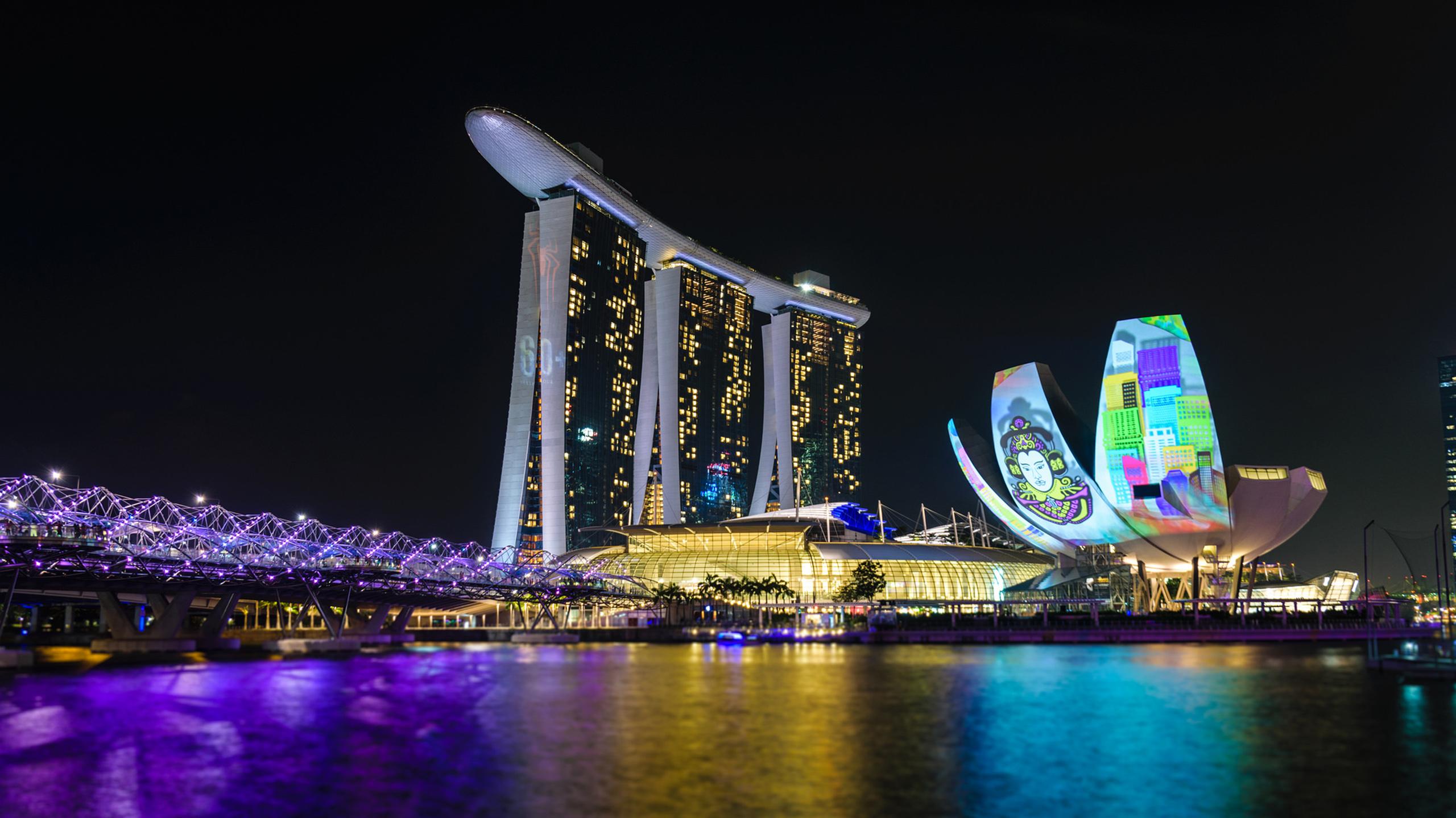 Helix Bridge Singapore Wallpapers Pictures Images