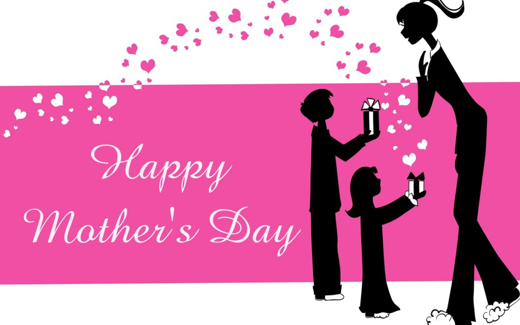 Mothers Day Vector Art Wallpaper