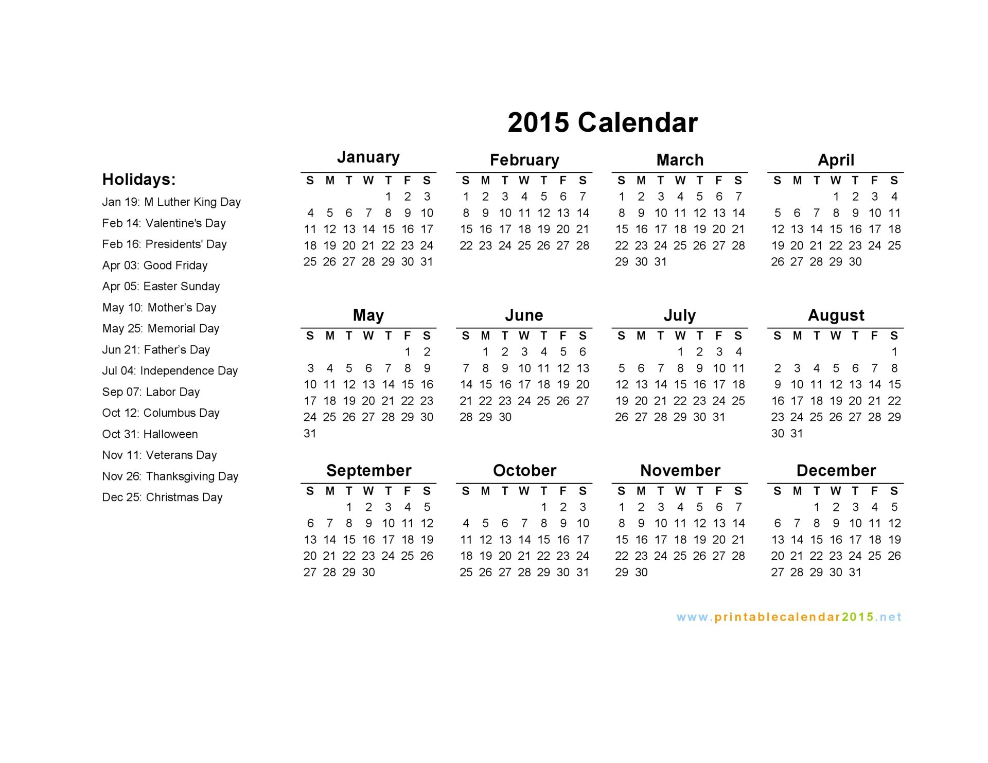 Calendar with holidays 2015 pictures images for 2015 calendar template with canadian holidays