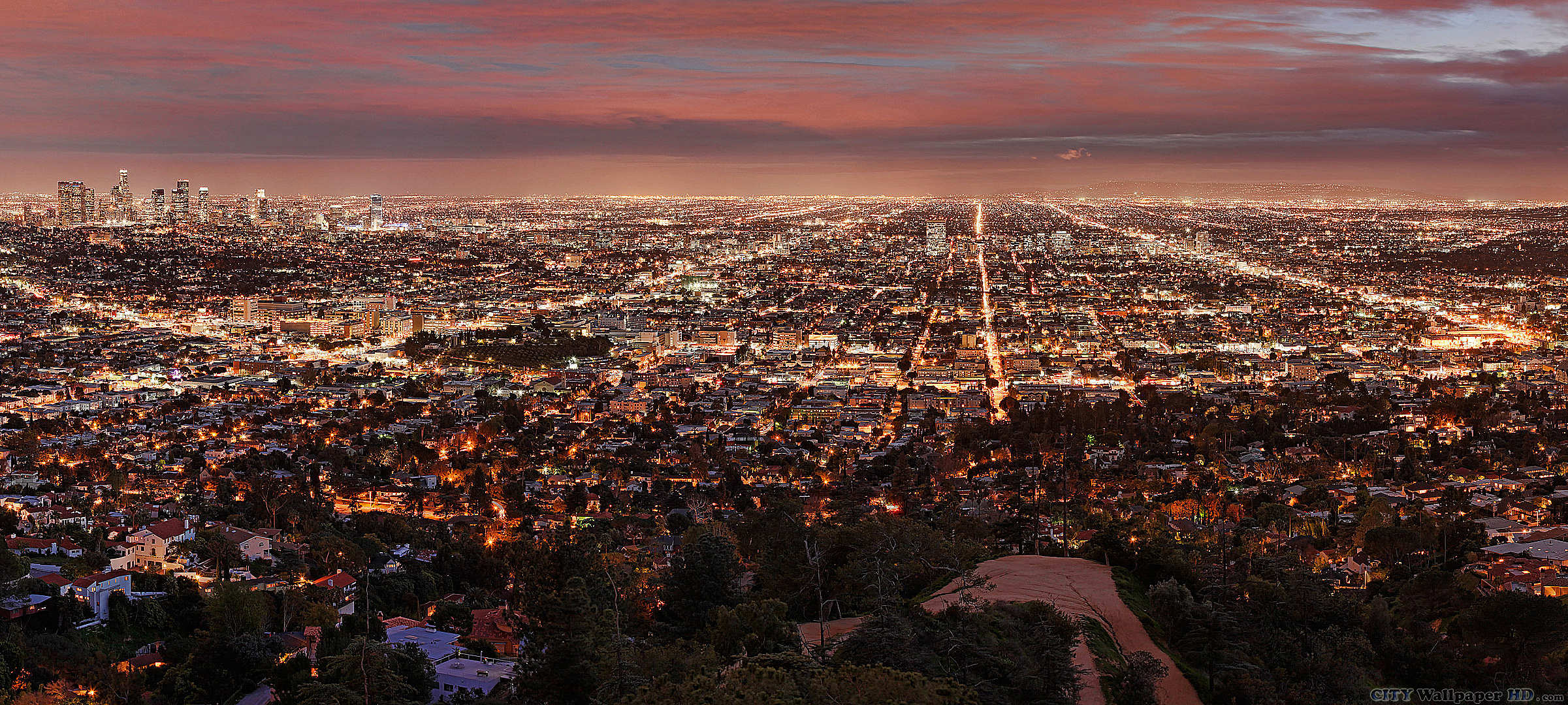 Los angeles wallpapers pictures images for Is la a city