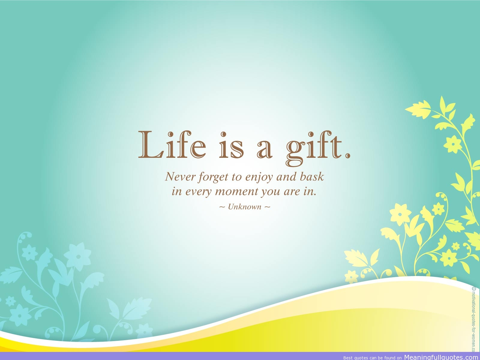 A Quote About Life Life Quote Wallpapers Pictures Images