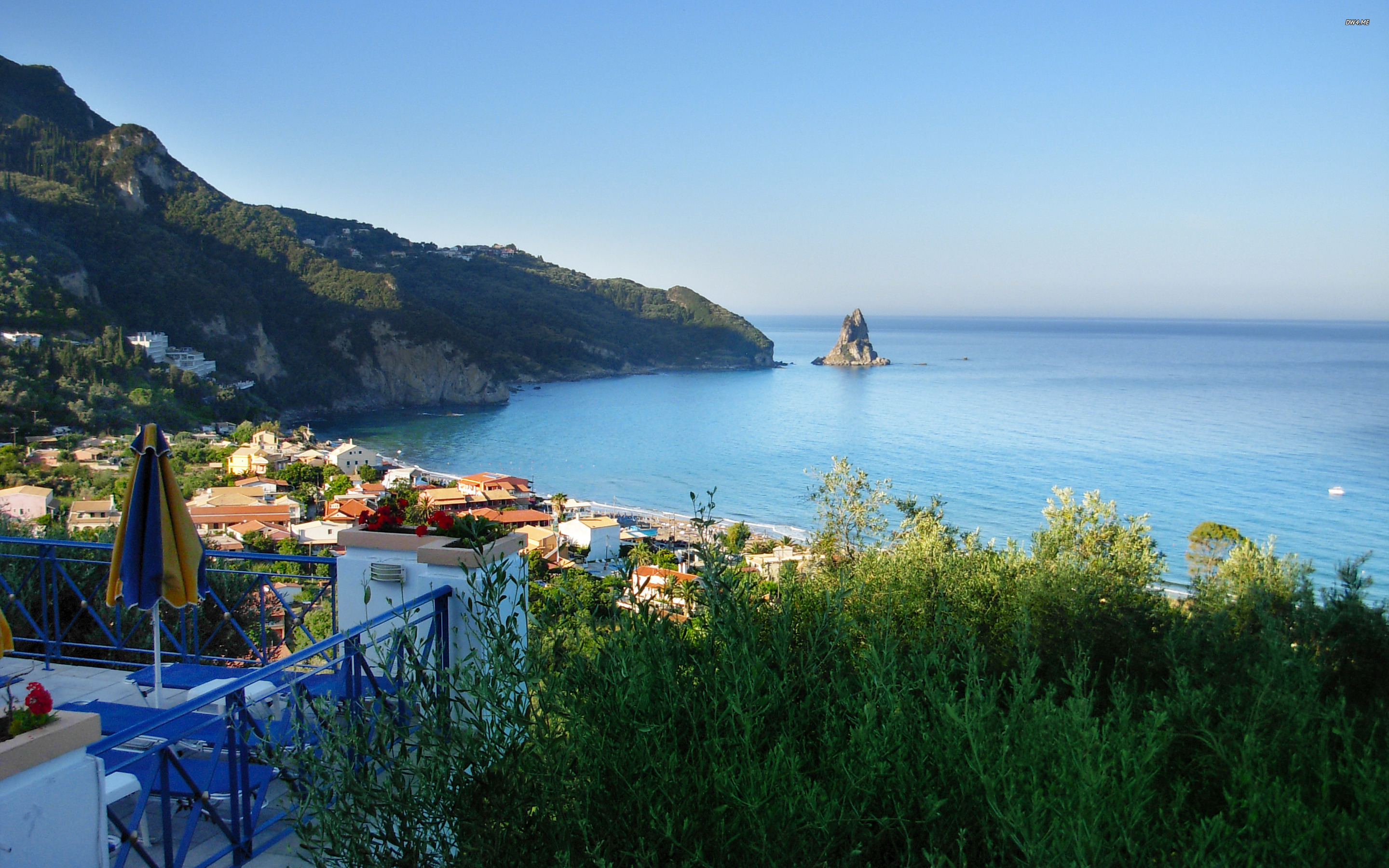 Greece Beach Wallpaper: Greece Wallpapers, Pictures, Images
