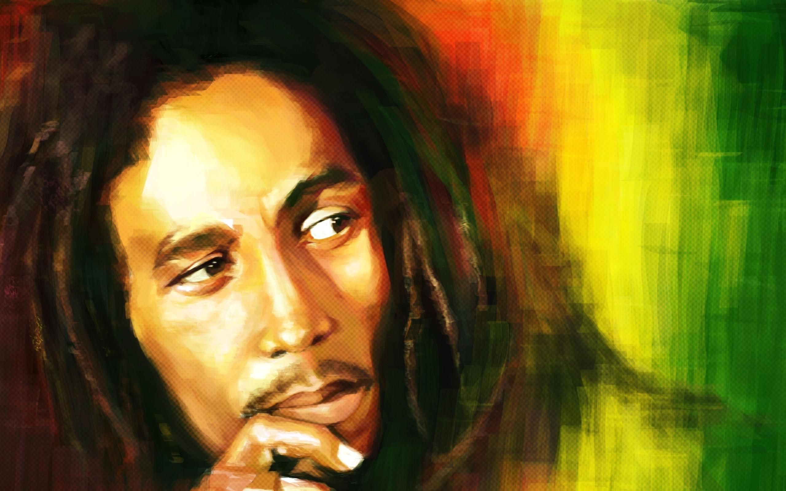 Bob Marley Widescreen Wallpaper 2560x1600