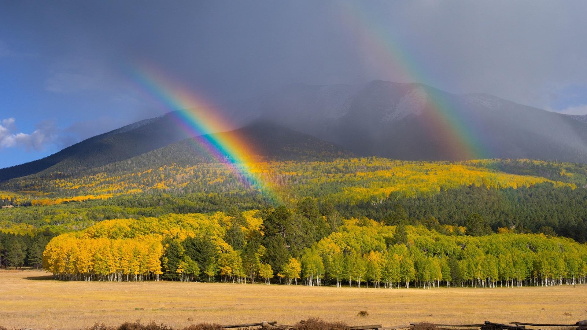 real rainbow wallpaper - photo #21
