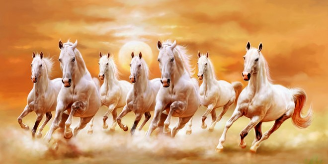 Horse Painting Wallpapers