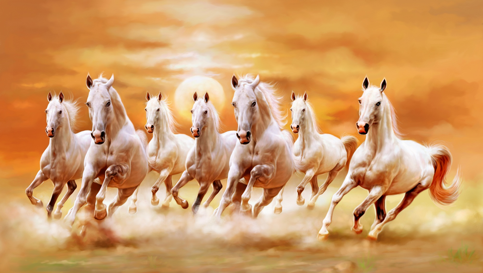 Horse Painting Wallpapers, Pictures, Images