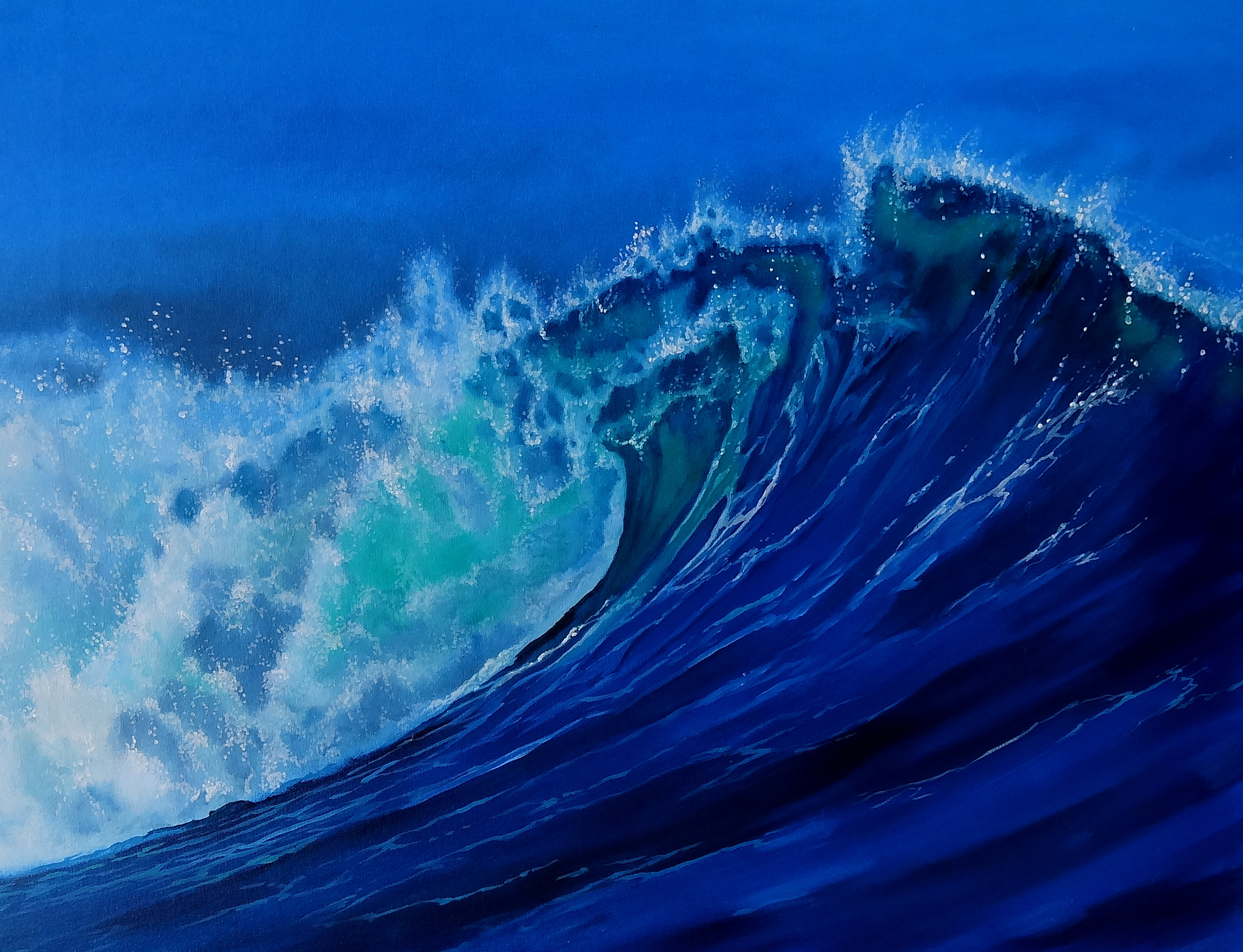 Blue wave wallpapers pictures images - Wave pics wallpaper ...