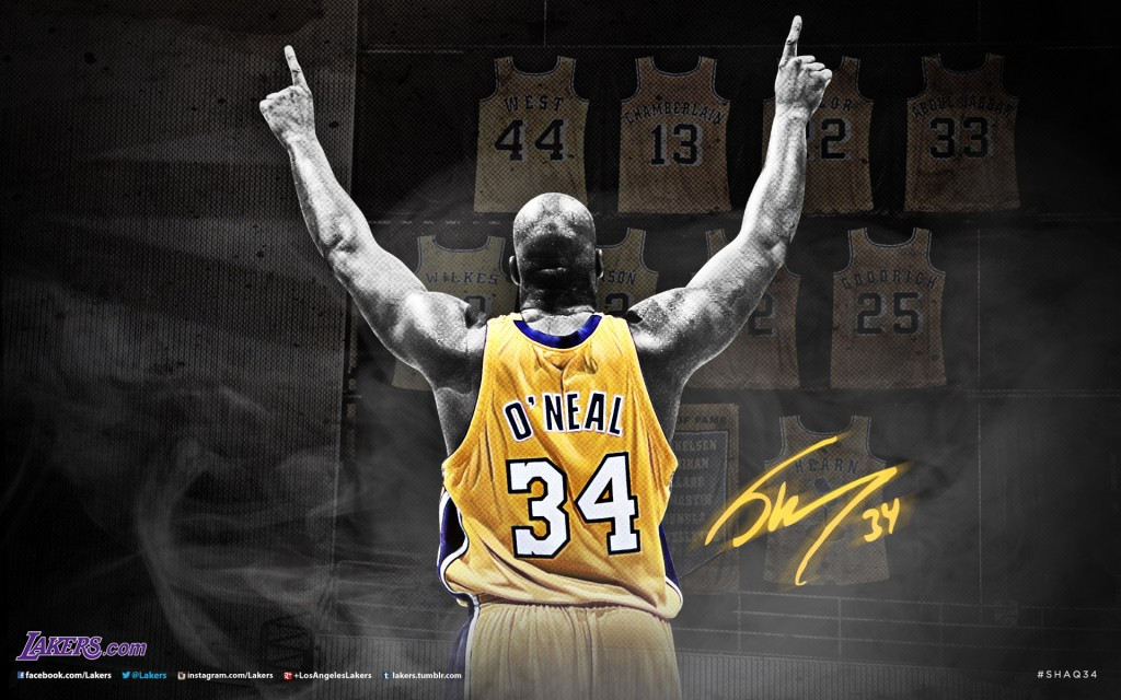 Shaquille Oneal Wallpaper