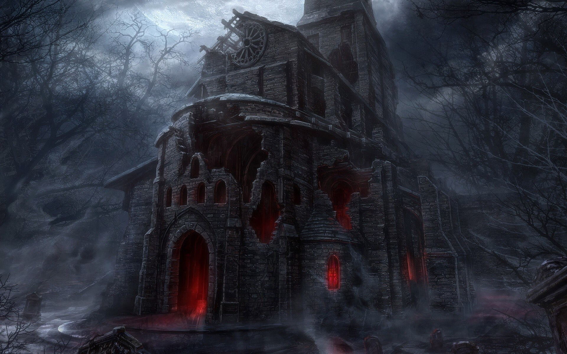 Scary hd wallpapers pictures images - Scary halloween wallpaper ...