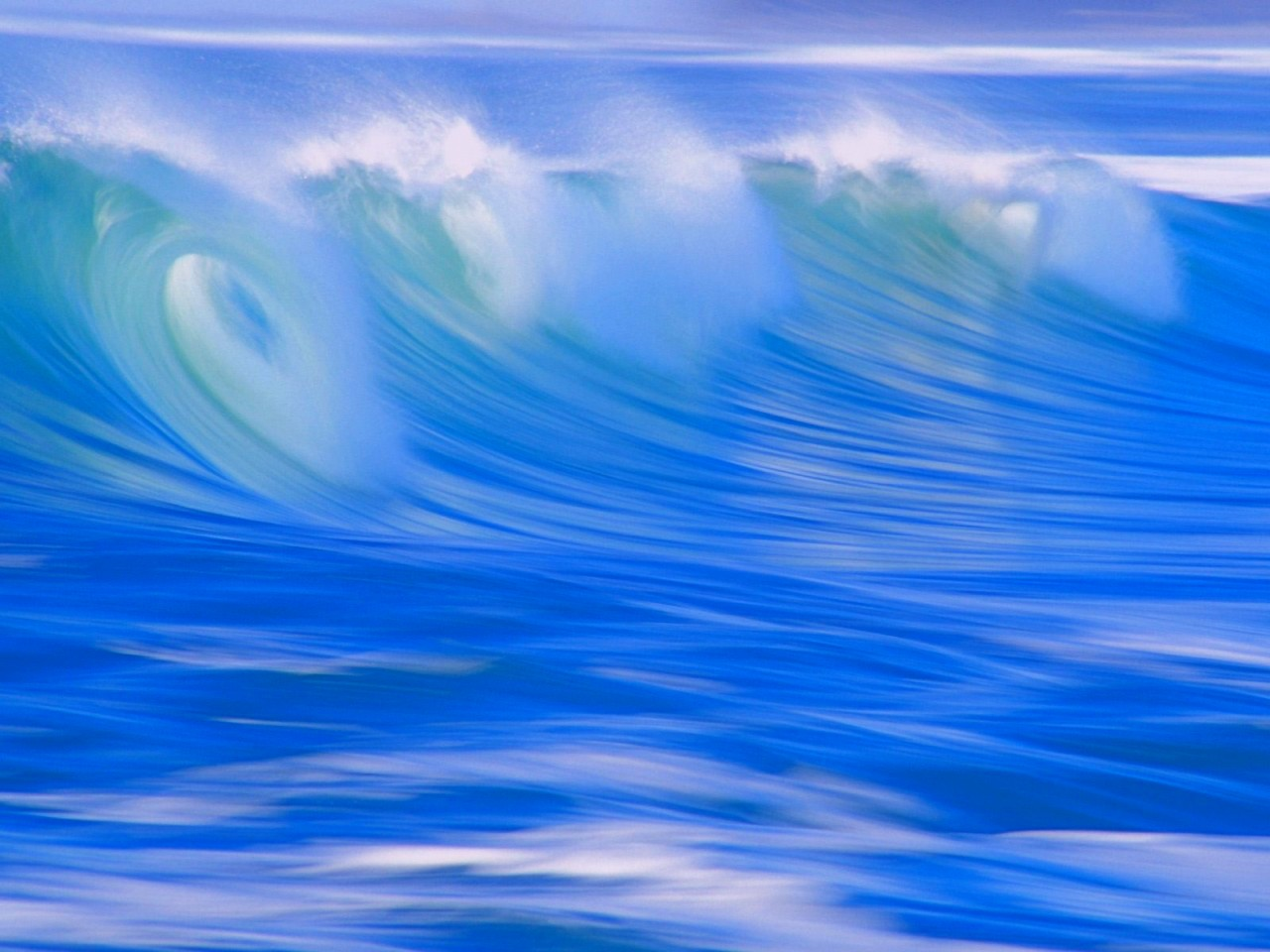 Blue Wave Wallpapers, Pictures, Images Pacific Ocean Waves