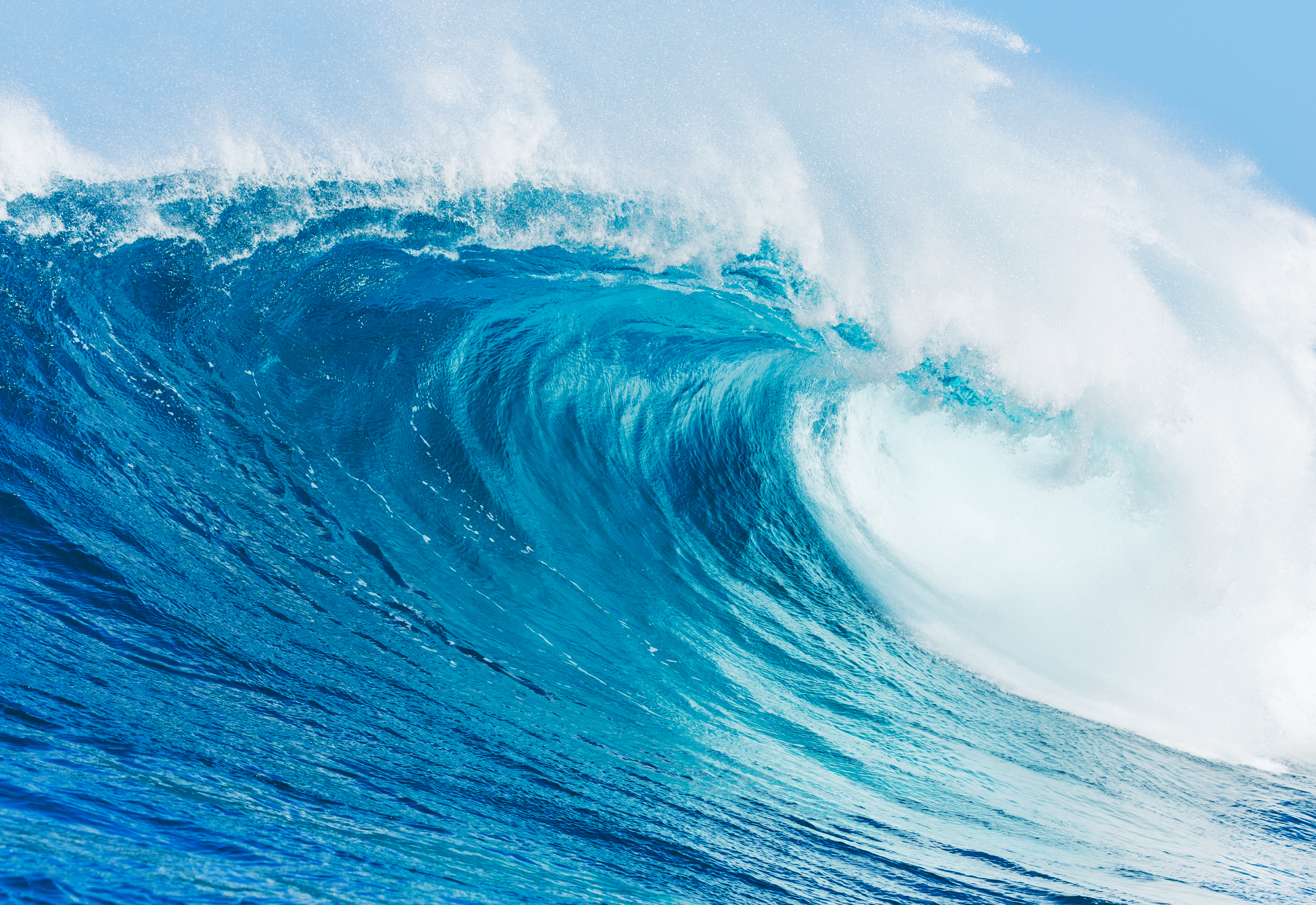 Blue Wave Wallpapers Pictures Images