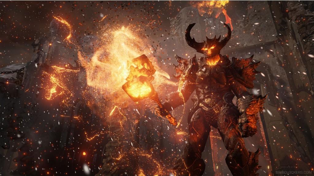 Fire Elemental Wallpaper