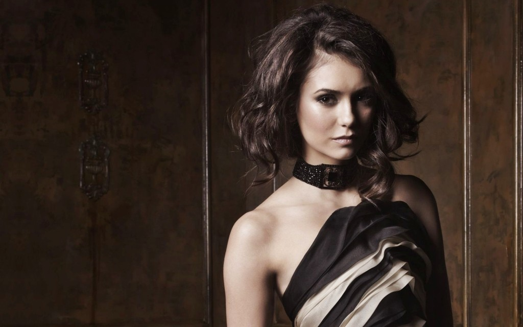 Nina Dobrev Widescreen Wallpaper 2560x1600