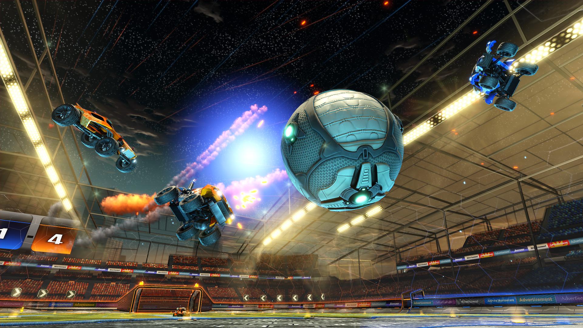 Rocket League Hintergrund