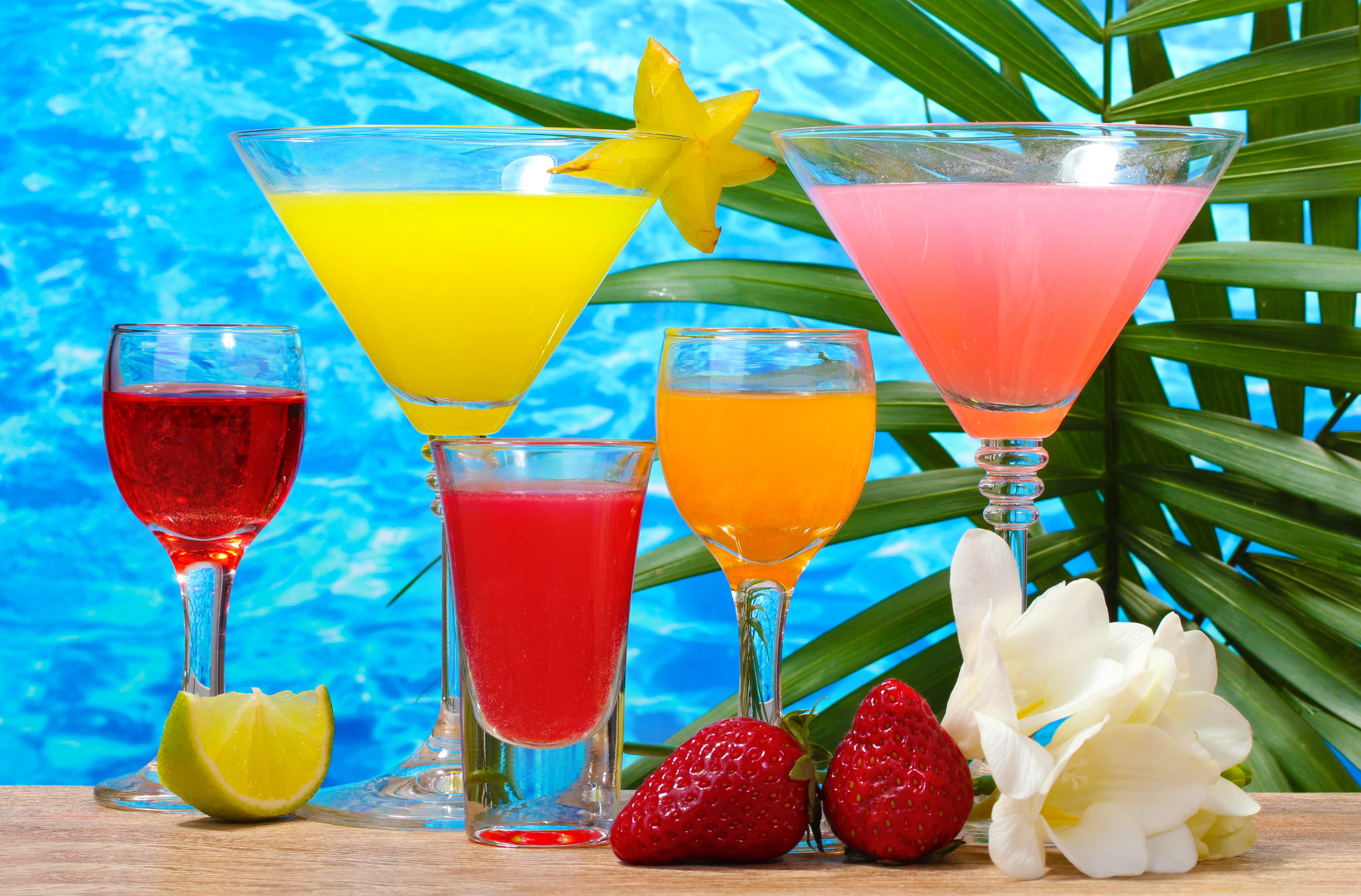 Tropical Cocktail Wallpapers, Pictures, Images